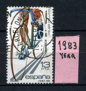 SPAGNA - Year 1983 - AEREA - Usato - Used - Utilisè - Gebraucht. - Usati