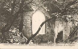 21 - St-Victor-sur-Ouche - Ruines Du Château De Marigny - Intérieur De La Chapelle - Autres Communes