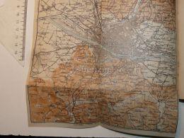 Firenze  Sesto Galluzzo Peretola Italy Map Mappa Karte 1908 - Mappe