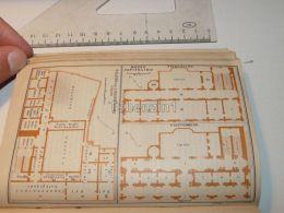 Roma Museo Capitolino Palazzo Dei Conservatori Italy Map Mappa Karte 1908 - Maps