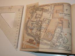 Roma Mons Palatinus Italy Map Mappa Karte 1908 - Mappe