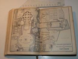Roma Palazzo Pontifico Basilica Di S. Pietro Vatican Vaticano Italy Map Mappa Karte 1908 - Mappe