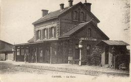 Cassel  -  La Gare.     (F68) - Cassel