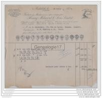 96 1442 ANGLETERRE REDDITCH 1929 HENRY MILWARD ET SONS LIMITED Aiguilles Hamecons De Mer Peche - United Kingdom