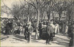 MARCIGNY  Le Marché - France