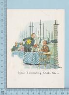 Publicité, Advertising - Altitude 737 Restaurant-Lounge Place Ville Marie Montreal Quebec -  Carte Postale Postcard - Publicité