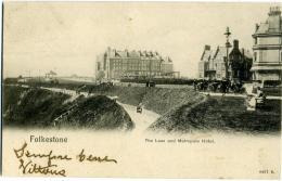 REGNO UNITO  KENT  FOLKESTONE  The Lees And Metropole Hotel - Folkestone