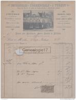 60 338 NOYON OISE 189. Imprimerie J. TUGAUT Rue Du Nord PROSPECTUS TARIFS CARTES A JOUVE BICHARD - Frankreich
