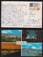 Panama 1972 Picture Postcard To BUDAPEST Hungary - Panama