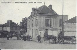 CPA  France   78 Yvelines   Rambouillet  Maison Gaillard  Loueur De Voitures - Rambouillet