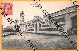 Ostende - Oostende - Le Nouveau Pont - Animée - 1906 - Dr. TRENKLER Co - Oostende