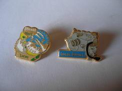 2 Pin's LUCAS DIESEL - Badges