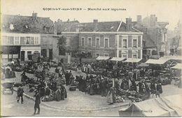 ROMILLY SUR SEINE  Marché Aux Légumes - Romilly-sur-Seine