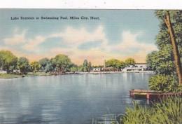 Montana Miles City Lake Scanlan Or Swimming Pool - Miles City