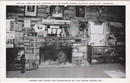 Montana Miles City Partial View Of Interior Of Range Riders Museum - Miles City