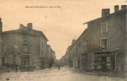 BELLAC RUE DU COQ  ET COMMERCE EPICERIE MARSAUDON - Bellac