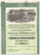 """Action Ancienne - Sté Industrielle & Minière Belgo Colombienne """" Colombomin"""" - Titre De 1929 -n° 06687 - Mines"""