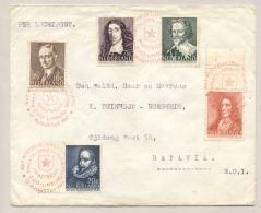 Nederland - 1947 - Zomerserie Van Philatelistendag Maastricht Naar Batavia / Nederlands Indië - Brieven En Documenten