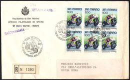MOTO - SAN MARINO 1983 -3° GRAN PREMIO SAN MARINO - RACCOMANDATA - Motorbikes