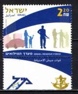 ISRAELE - 2005 - RESERVE FORCE - NUOVO MNH - Nuovi (con Tab)