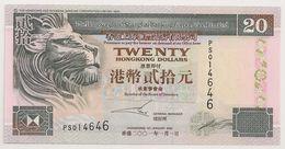HONG KONG 20 Dollars 1st January 2001 (UNC) - BILLET NEUF - Hong Kong