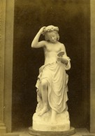 France Paris Exposition Universelle Statue Rodolphe Galli Statue Ancienne Photo CDV 1867 - Photographs