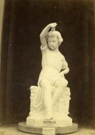 France Paris Exposition Universelle Pasquale Miglioretti Statue Ancienne Photo CDV 1867 - Photographs