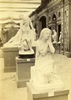 France Paris Exposition Universelle Section Italienne Statue Ancienne Photo CDV 1867 - Photographs