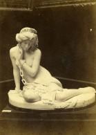 France Paris Exposition Universelle Statue L'Esclave Ancienne Photo CDV 1867 - Photographs