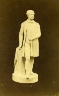 France Paris Expo Universelle? Statue De Gladstone Ancienne Photo CDV 1867 - Photographs