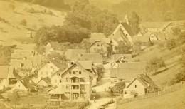 Allemagne Bad Teinach Panorama Ancienne Photo CDV Reichen 1870's - Photographs