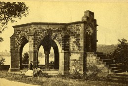 Allemagne Coblence Koblenz Königsstuhl Von Rhens Ancienne Photo CDV 1870 - Photographs