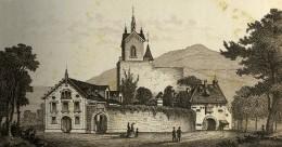 Allemagne Baden Baden Schloss Eberstein Château Ancienne Photo CDV Frey 1870 - Photographs