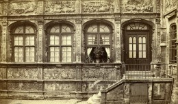 France Rouen Hotel Bourgtheroulde Ancienne Photo CDV Neurdein 1870 - Photographs