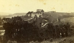 France Dieppe Arques-la-Bataille Chateau Panorama Ancienne Photo CDV Neurdein 1870 - Photographs