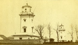 France Le Havre Phares De Sainte Adresse Lighthouse Ancienne Photo CDV Neurdein 1870 - Photographs