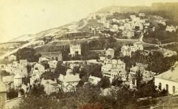 France Le Havre Sainte Adresse Panorama Ancienne Photo CDV Neurdein 1870 - Photographs
