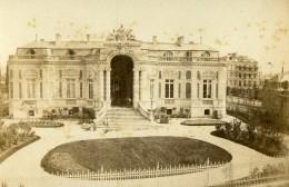 France Elbeuf Cercle Des Commerçants Ancienne Photo CDV Rougeot De Briel 1870 - Photographs