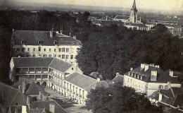 France Bourbon Lancy Hotel Des Thermes Marion Ancienne Photo CDV 1870 - Photos