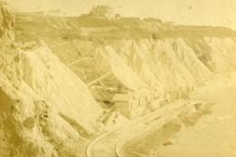 France Biarritz Cote Des Basques Ancienne Photo CDV Andrieu 1870 - Photographs