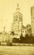 France Avignon La Cathedrale Notre-Dame Des Doms Ancienne Photo CDV Neurdein 1870 - Photographs
