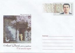 MOLDOVA , MOLDAWIEN , MOLDAVIE , MOLDAU , 2009 , Pre-paid Envelope , A. David-Painter , Graphic - Moldova