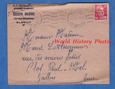 Enveloppe Ancienne - ELBEUF - Café Tabac / Magasin A L ELEGANTE Veuve Alfred DUBOC - Brieven En Documenten