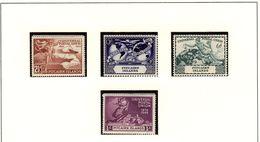 PITCAIRN Isl. UPU  1949 #13 - 16  MNH - Timbres