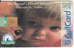 "IRELAND - The National Children""s Hospital, Chip GEM1.1, Tirage %50000, 10/97, Used - Ireland"