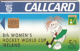 IRELAND - Womens Hockey World Cup, Chip GEM1.3, 07/94, Used - Ireland