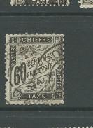 France 1881 Postage Due 50 Centimes Black Averaged Used - 1859-1955 Usados