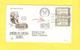 Old Letter - USA, Thomas Jefferson - United States