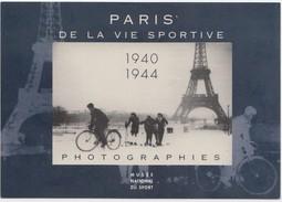 Paris De La Vie Sportive - 1940-1944 Photographies, Musee National Du Sport, Unused Postcard [20757] - Museum