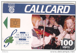 IRELAND - Suzuki Method World Convention(100 Units), Tirage 12000, 07/95, Used - Ireland